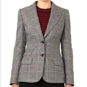 Micheal Kors Glen Plaid Blazer